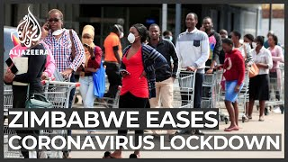 Zimbabwe lockdown: Restrictions eased as COVID-19 affects people
