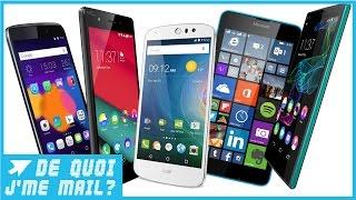 Top 5 de l'été des smartphones à moins de 200 euros DQJMM (3/3)
