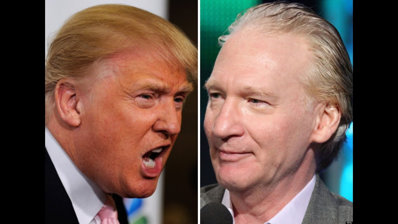 Image result for bill maher donald trump
