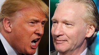 Bill Maher VS Donald Trump 2015 - The Full Story Part 2