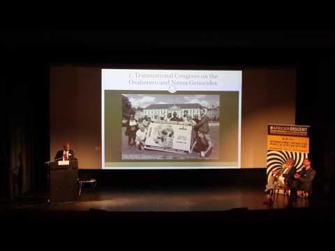 [#5]Ovaherero and Nama Genocide Congress in Berlin 2016: Opening: Dr. Ngondi Kamatuka