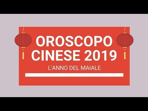 Calendario Cinese 1993.Oroscopo Cinese 2019 L Anno Del Maiale