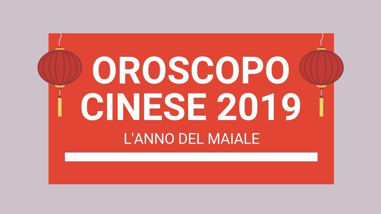 Oroscopo Cinese Maiale 2019 oroscopo cinese 2019: l'anno del maiale!