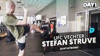 ''IK MAAK HEM KAPOT'' Voorbereiding UFC Ahoy met Stefan Struve || #DAY1 Afl. #39