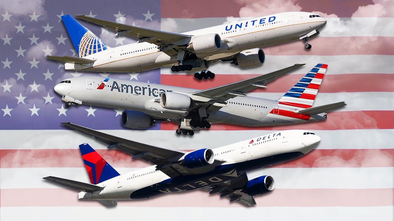 UNITED vs DELTA vs AMERICAN Economy Class | Which Airline Is Best In 2021?  - YouTube