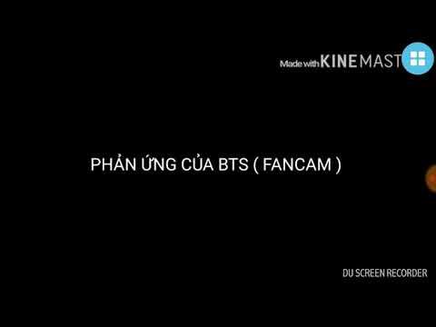 Phản ứng của BTS khi nhận giải DEASANG ❤