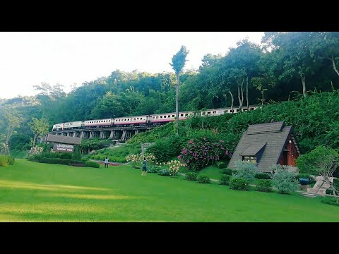 EP2 #กาญจนบุรี #รีวิวที่พัก สวนไทรโยค รีสอร์ท l Suansaiyok Resort l Thai vlog