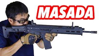 KSC マグプル PTS MASADA システム7TWO搭載の最新ガスブローバック アサルトライフル マック堺のレビュー動画