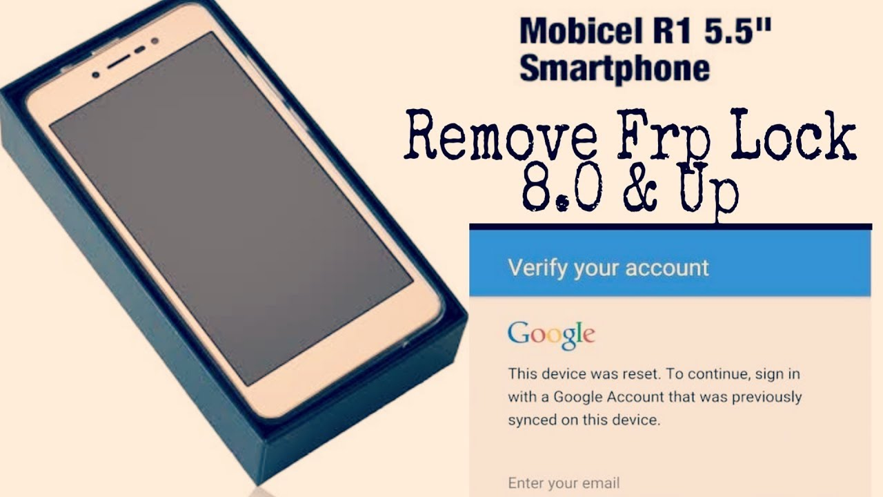 mobicel r1 google account bypass 7 0 Remove Google Account Without Pc