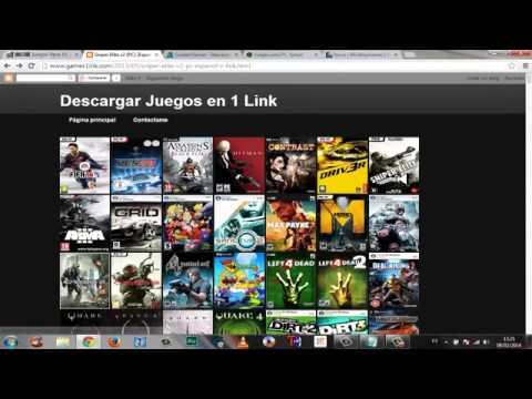 Las mejores paginas para descargar juegos para pc con 1 link mega.