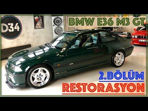 BMW E36 M3 GT Restorasyon - 2.Bölüm