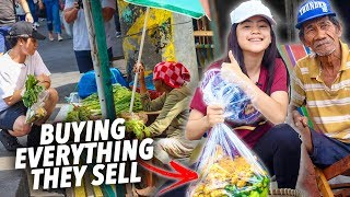 Buying EVERYTHING They Sell, if they give one FREE!! (Palengke) | Ranz and Niana