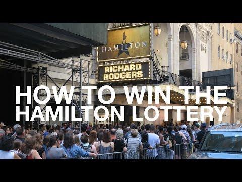 How To Win The Hamilton Lottery