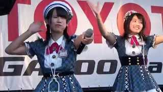 AKB48 team8によるミニライブの模様 M-6「恋する充電プリウス」 日付:2...