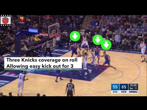 Knicks Film Study: Video Notes of Grizzlies Loss