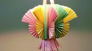 Kandil making | paper Lantern | Akash Kandil making | How to make Kandil | Diwali decoration