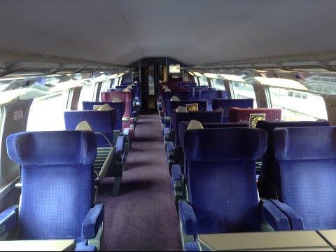 TGV Duplex Stuttgart-Paris: Mitfahrt auf Hochgeschwindigkeitsstrecke und Blick in den Innenraum