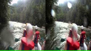"3D Ocoee River Whitewater Rafting 8 ""Second Helping"" and ""Slice & Dice"""
