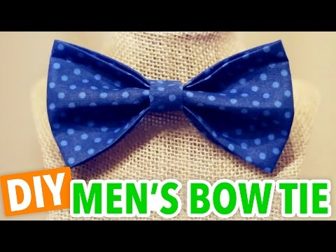 DIY Men's Bow Tie - HGTV Handmade