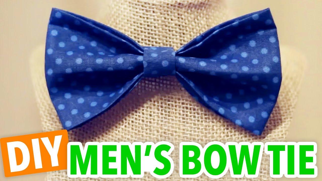 DIY Men's Bow Tie - HGTV Handmade - YouTube