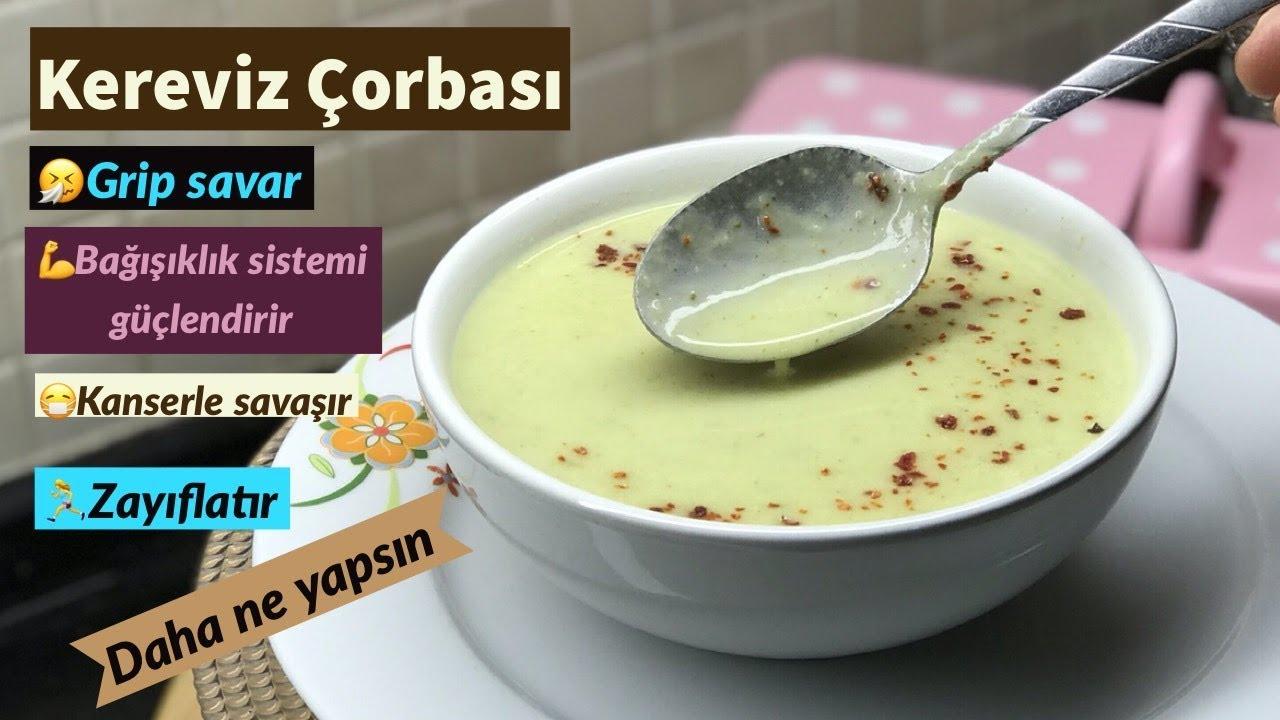 Kereviz Çorbası - Naciye Kesici - Yemek Tarifleri