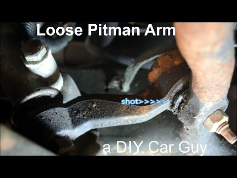 How to Spot a Loose Pitman & Idler Arm - Chevy 2500