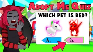 Will I Pass The EASIEST Adopt Me Quiz!? (Roblox)