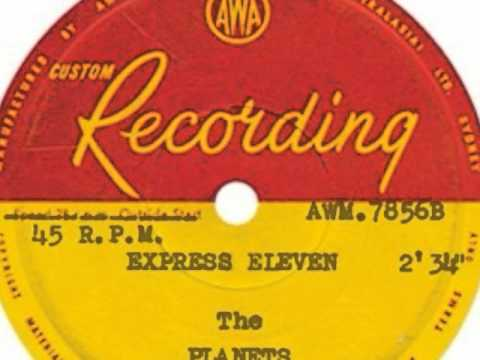 The Planets - Express Eleven 1960  AWA - AWM 7856.wmv