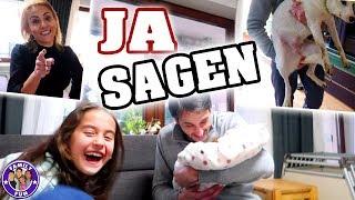 1 TAG lang JA SAGEN Challenge - Egal was passiert - Family Fun