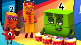 Numberblocks - Starry Night | Learn to Count | Learning Blocks