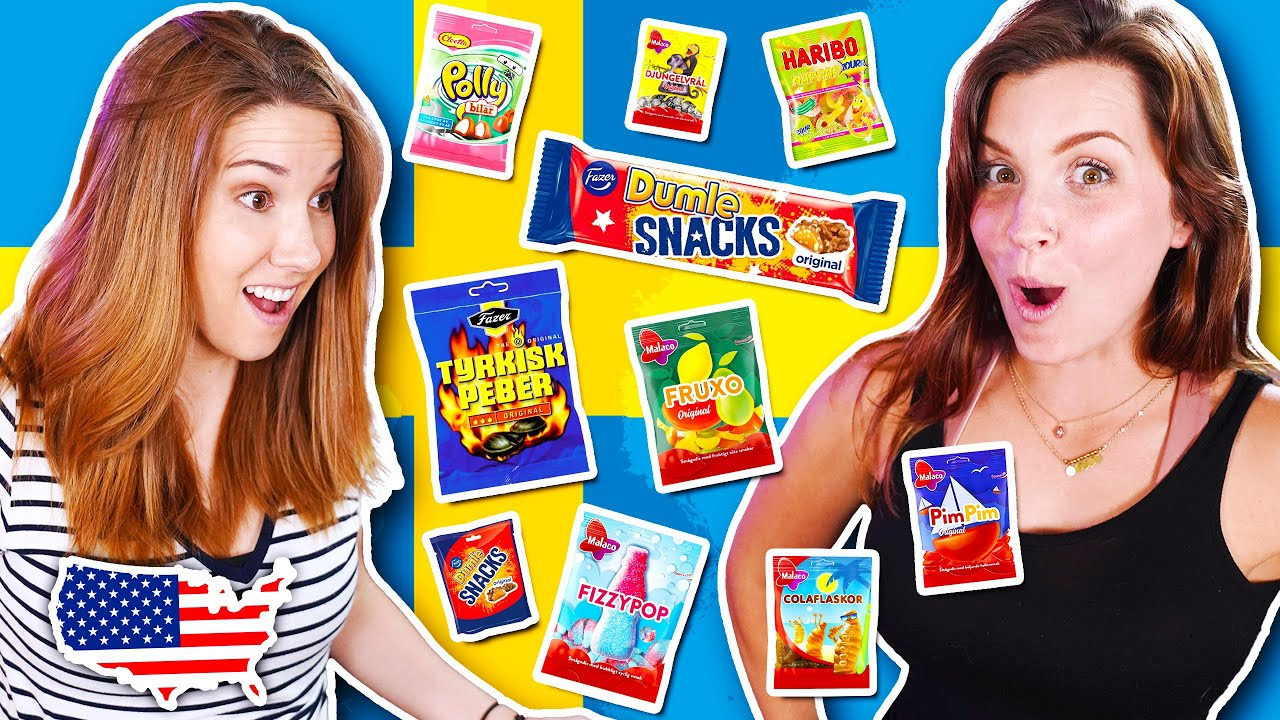 American Girls Try Weird Swedish Candy for the First Time