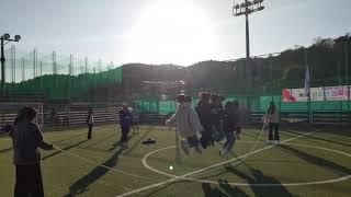 풋살대회 단체줄넘기 진행