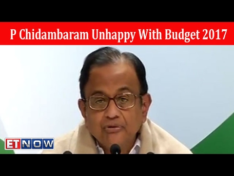 Union Budget Turned Out To Be A Damp Squib: P Chidambaram