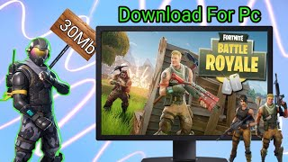 Télécharger Fortnite Battle Royale Sur pc no survey highly compressed in 30mb