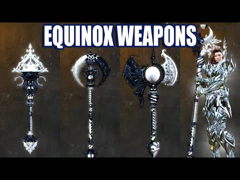 Equinox Weapon Skins ● Guild Wars 2 thumbnail
