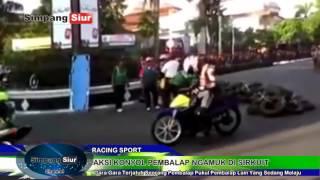Tragedi Pembalap Ngamuk Usai Kecelakaan Pukul Lawan Di Sirkuit