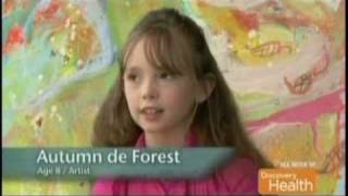 5歳で初めて筆を握り8歳で天才画家と呼ばれた少女、14歳で偉大なアーティストへの道を歩む