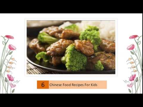 Chinese Food Recipes For Kids