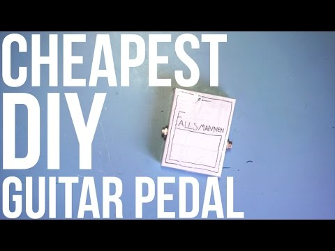 Cheapest DIY Guitar Pedal (Fuzz)
