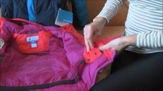 Обзор детских зимних курток: Columbia Stun Run Jacket и Crash Out Jacket