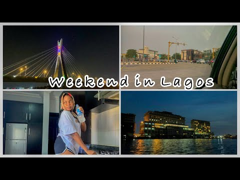 LAGOS VLOG: Weekend in Lagos| Service apartment review| Boat cruise with friends at night. Pt 1