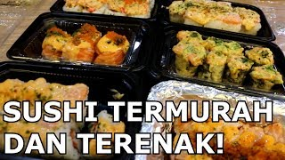 SUSHI KNIGHT!! SUSHI TERMURAH DAN TERENAK DI JAKARTA! KACAU MAN