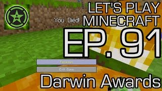 Let's Play Minecraft: Ep. 91 - Darwin Awards