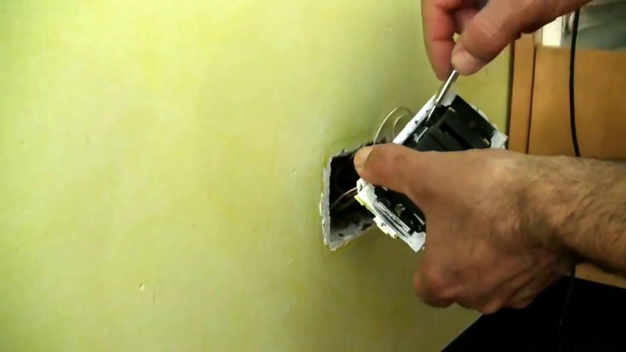 Schema Collegamento Presa Telefonica Rj11 : Sostituzione presa living con presa living attacco plug per adsl