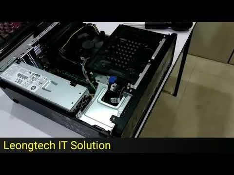 How to Upgrade RAM in HP Slimline 290