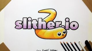 Slither io Logo Drawing - FANART