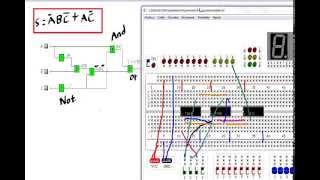 Circuito práctico hecho paso por paso (Problema aire acondicionado), en simulador digital.
