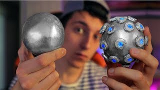 MAKING AN IMPULSE NADE FROM FORTNITE WITH A MIRROR-POLISHED JAPANESE FOIL BALL!