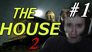 SCARY GAMES! - The House 2 Walkthrough with Reactions & Facecam Part 1 of 2