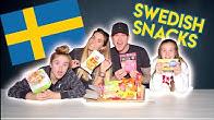 BRITISH Family Trying SWEDISH Snacks! 🇸🇪